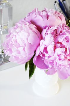 Fabulous K Peonies // I'd do anything to get my hands on a bouquet about now:)