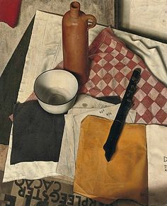 Dick Ket (Dutch, 1902-1940) Still Life with Flute  1932