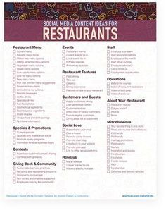 87 Social Media Content Ideas for Restaurants That Will Make You Hungry for Marketing Calendar, Social Media Calendar, E-mail Marketing, Marketing Quotes, Content Marketing, Mobile Marketing, Marketing Ideas, Internet Marketing, Affiliate Marketing