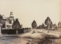 Álbum Fotografias de São Paulo 1900 - Residência de Adam von Büllow Gaensly, Guilherme (1900 década)