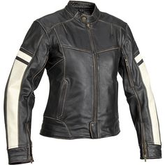 Motorcycle Jackets for Women   Women's Dame Vintage Leather Jacket - Street Motorcycle - Motorcycle ...