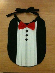 Tuxedo bib- pattern