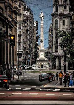 Monumento al General Dorrego, Tribunales, Buenos Aires