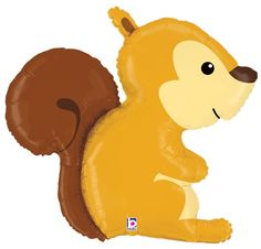 Party Zone USA - Squirrel Woodland Critters Balloon, $5.38 (http://www.partyzoneusa.com/balloons/animals-insects/squirrel-woodland-critters-balloon/)