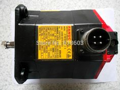 550.00$  Buy now - http://alisop.shopchina.info/1/go.php?t=1881279650 - A06B-0075-B003 FANUC alpha servo spindle motors electric servo motors 100% tested ok warranty 90days  #magazineonline
