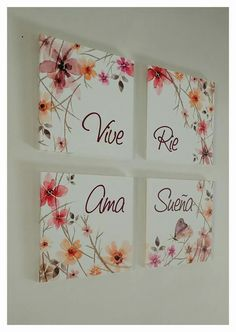 Me encanta !! Es muy bonito!! Arte Fashion, Vintage Labels, Home Deco, Canvas Wall Art, Diy And Crafts, Projects To Try, Frame, Handmade, Painting