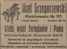 Śmierć w składzie fortepianów Historia