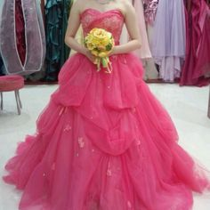 pink dress♡