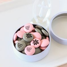 Personalized Party Mint Chocolate Candy by Beau-coup