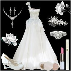 So beautiful wedding dress makes you different from others!  Find More: http://www.imaddictedtoyou.com/