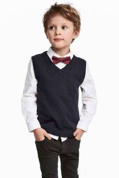 Shirt and Sweater Vest #h&mkids