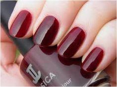 Cherrywood * Jessica nail lacquer (dark red color) | at Enails.eu