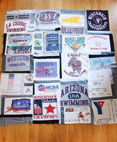 Memory quilts - I have been savings jerseys and will have one made for graduation some day.