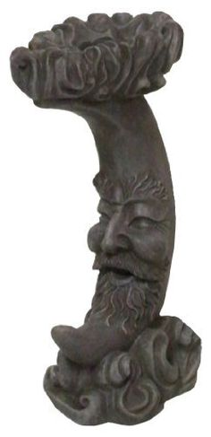 Very Cool Stuff MMGH8 Moon Man Globe Holder, 16-Inch Height by Very Cool Stuff. $39.30. Moon man globe holder. Available in 10-inch tall for 4-inch to 6-inch gazing balls and 21-inch tall for 10-inch to 12-inch gazing balls. Years of use and beauty. Constructed of durable resin and meticulously hand painted. Measures 16-inch height. This moon man globe holder is constructed of durable resin and meticulously hand painted for years of use and beauty. Also available in 10-inch...
