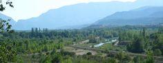Vista dels dics des de l'ITV de Tremp #geologia #pallarsjussa #concadetremp #tremp.