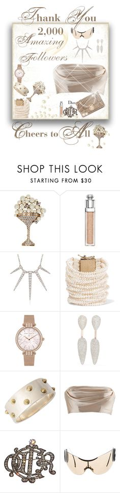 """""""Cheers to All"""" by leanne-laviolette ❤ liked on Polyvore featuring Marc Jacobs, Christian Dior, Gabriel, Rosantica, Harry Winston, Monica Vinader and Dolci Follie"""