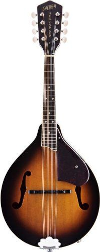 Gretsch Roots Collection G9320 New Yorker Deluxe Acoustic-Electric Mandolin - So want to learn to play...