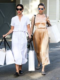 Star Tracks: Wednesday, April 6, 2016 |   BAGS FULL OF SWAG   | What fun! Models Lily Aldridge and mom-to-be Behati Prinsloo buddy up on Tuesday for a Beverly Hills shopping spree.