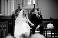 Wedding at Basilica of the Sacred Heart, Notre Dame Cathedral - photos by Browne Photography | junebugweddings.com