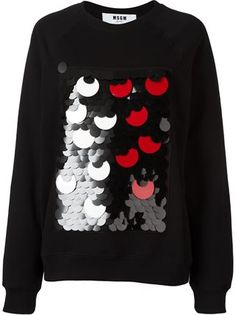 Refine your look with the women's sweaters edit at Farfetch. Find cute designer sweaters and luxury cahsmere sweaters from coveted labels now. Diy Fashion, Fashion 2016, Fashion Outfits, Fashion Design, Rave Outfits, Kids Outfits, Sequin Sweater, Embroidered Clothes, Sweater Design