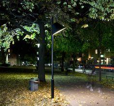 Lampadaire de jardin / contemporain / en verre trempé / en métal CONE by Propeller ZERO