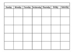 Cafechoo  Image  Blank Calendar Templates For Teachers  Root