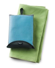 PackTowl (X-Large): Are you staying in hostels or other places that do not offer bath linens? Pack small and light with this travel towel.