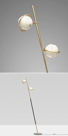 Angelo Lelli floor lamp, wright20