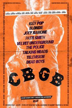 7 New Great 'CBGB' (2013) Poster Designs — Malin Akerman, Johnny Galecki, Stana Katic. A look at the New York City punk-rock scene and the venerable nightclub, CBGB. -IMDb http://filmfun.tumblr.com