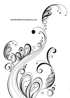 """""""Arising Ambition"""" doodle art by Heidi Denney / Time lapse video at link / sharpie art zentangle drawing"""