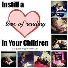 Instill a Love of Reading in Your Children - 6 tips to help your child learn to love reading.