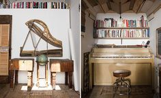 piano nook. i like to make music in small spaces.