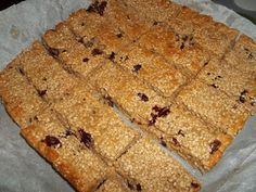 Greek Sweets, Greek Desserts, Greek Recipes, Food Network Recipes, Food Processor Recipes, Cooking Recipes, The Kitchen Food Network, Healthy Granola Bars, Easy Sweets