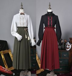 LolitaWardtobe - Bring You the latest Lolita dresses, coats, shoes, bags etc from Trustworthy Taobao indie Brands. We never resell Lolita items from untrustworthy Taobao stores. Vintage Dresses, Vintage Outfits, Victorian Era Dresses, Edwardian Dress, Doll Style, Victorian Fashion, Vintage Fashion, Cosplay Outfits, Lolita Dress