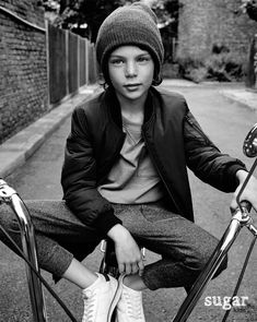 Aleix from Sugar Kids for ZARA AW16 Campaign.