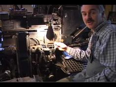 How does a Linotype work?