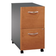 Bush Industries Series C File Cabinet - Two Drawers by Bush Industries. $248.99. Bush's Series C File Cabinet stores away your files without taking up additional floor space. Simply roll this durable fiberboard cabinet under any Series C desk. Both drawers have full-extension ball-bearing slides so you can easily access your legal- and letter-sized documents. One central lock secures both file drawers so your important papers stay secure. Ships fully assembled. Choose from seve...