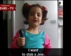 Vídeo: 'Quiero apuñalar a un judío', dice niña a su padre maestro