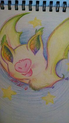 Kawaii Fruit Bat -By Rainbow Dynasty