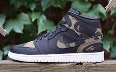 d827d8e03f24 Bape Air Jordan 1 Custom - Sneaker Bar Detroit Jordan Shoes