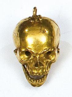 17th century German memento mori pendant