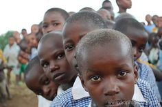 www.dropinthebucket.org a water charity building wells and sanitation systems at schools in Africa