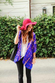 Easy DIY Kimono Tutorial