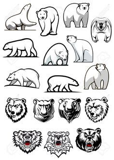 polar bear tattoo - Szukaj w Google