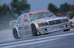 Final year for the AMG Mercedes (in Class 1 version). Between 1988 and Mercedes-Benz posts 50 DTM victories with the Mercedes Auto, Mercedes Benz Autos, Supercars, Sport Cars, Race Cars, Le Mans, Daimler Benz, Classic Mercedes, Top Cars