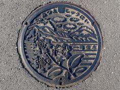 Atsue Kaya Kyoto, manhole cover (京都府加悦町温江のマンホール) | Flickr - Photo Sharing!
