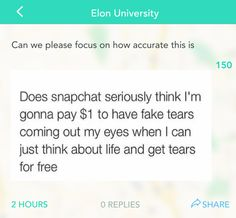 This painful truth: | 21 Yik Yaks From 2015 That Are Just Really Damn Funny
