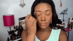 A little sweat ain't never hurt nobody—unless they were wearing foundation. Simple Makeup, Easy Makeup, Makeup Tips, Sweat Proof, Beauty Hacks, Beauty Tips, Makeup Yourself, Balls, Foundation