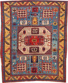 Kazak rug  size approximately 5ft. x 6ft. 4in.