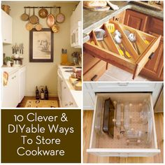 Roundup: Clever DIYable Ways to Store and Organize Cookware and Utensils » Curbly | DIY Design Community